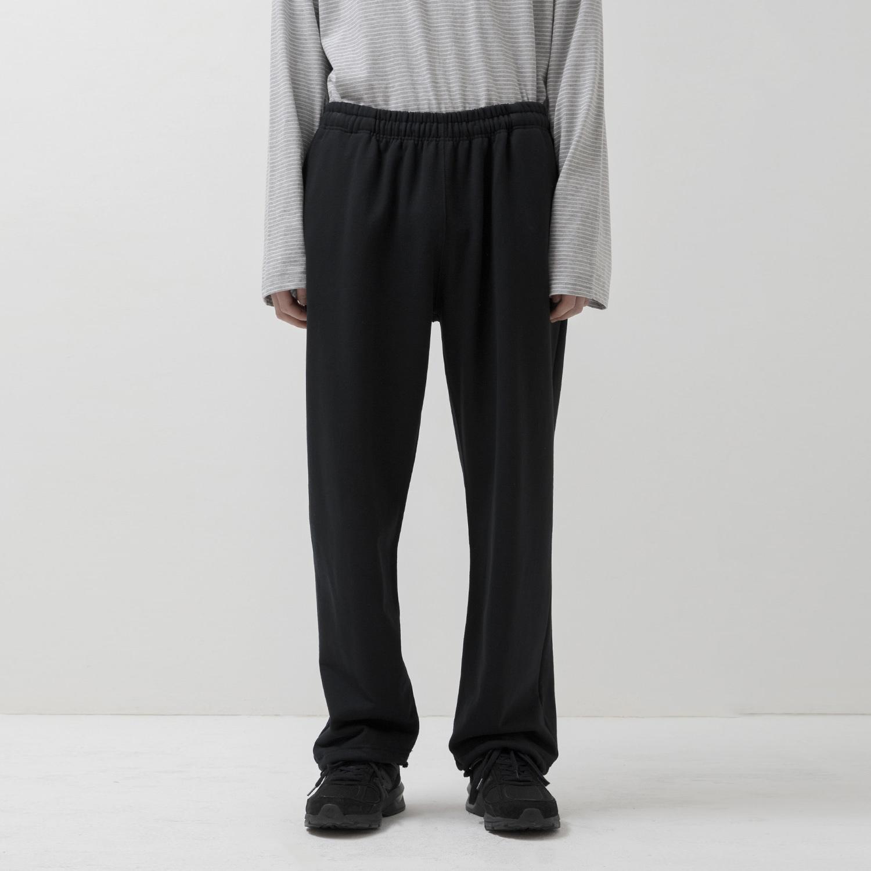 2 Way Sweat Pants (Black)