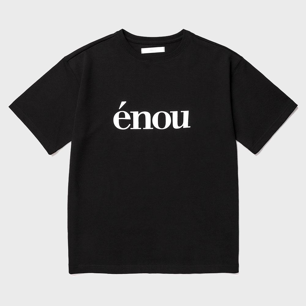 로고 티셔츠_블랙(EN2AMMT502A)