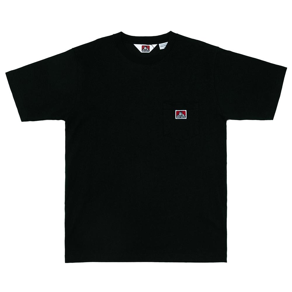 화이트라벨 포켓 티셔츠 블랙