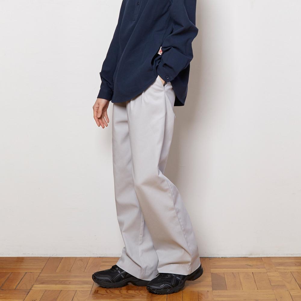 APL012_Cotton Wide Pants_Gray