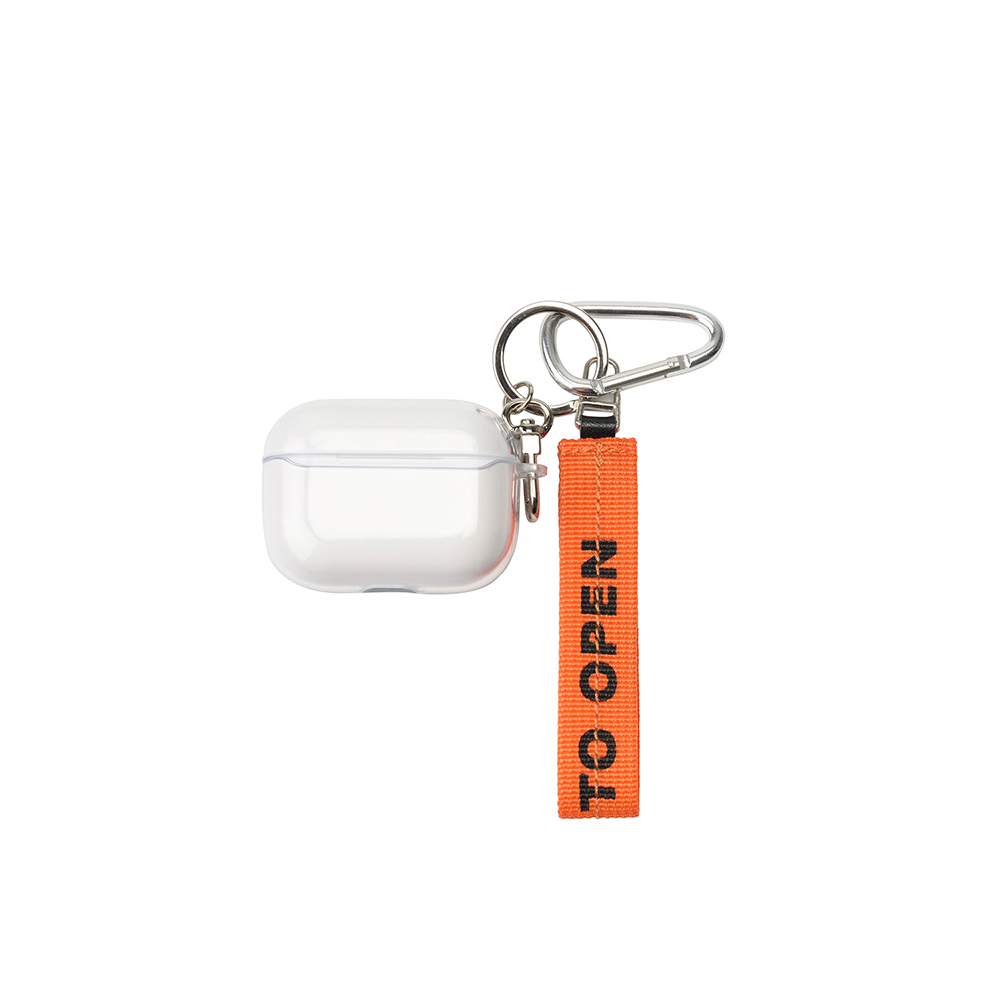[AIR LOCK] airpods pro case (clear)