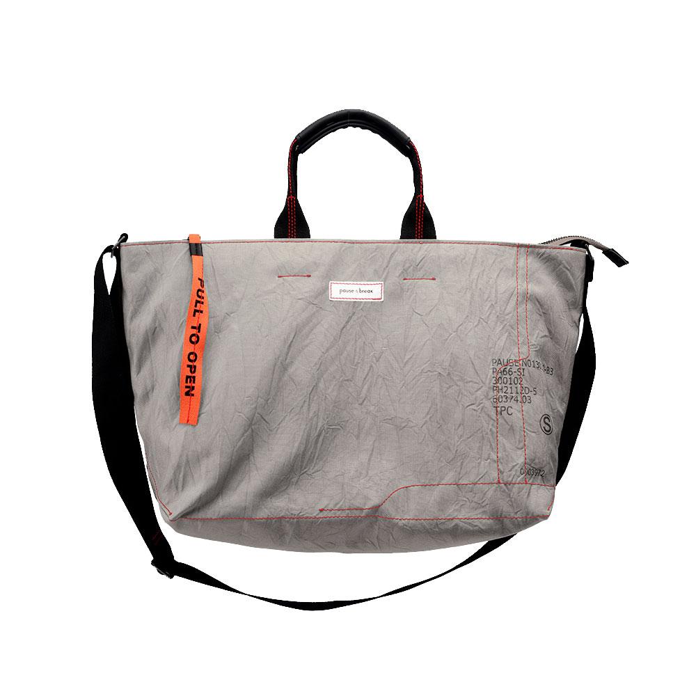 [AIR LOCK] cross bag (grey)