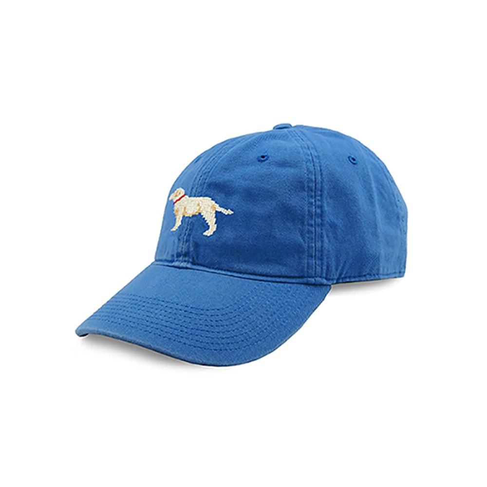 [Smathers&Branson]Adult`s Hats YellowLab on Royal Blue