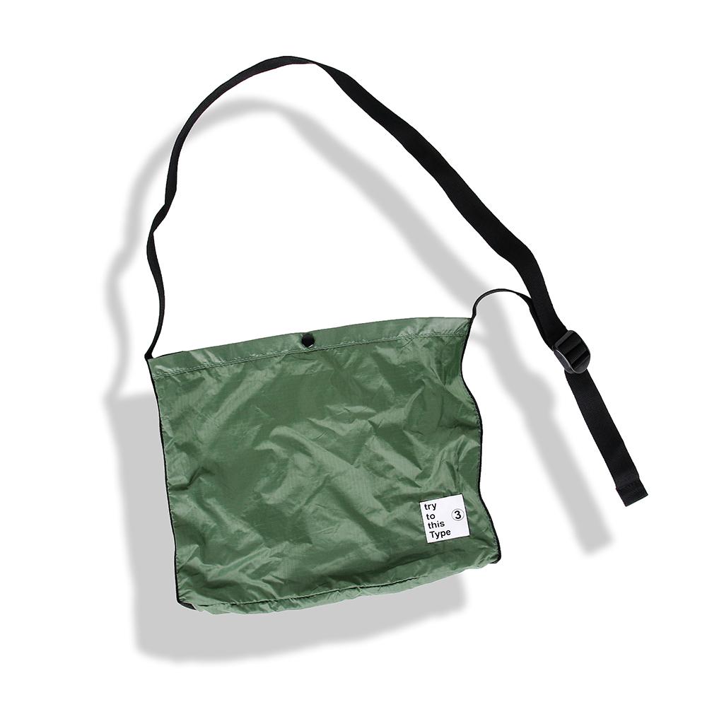 001 Nylon Bag, Olive