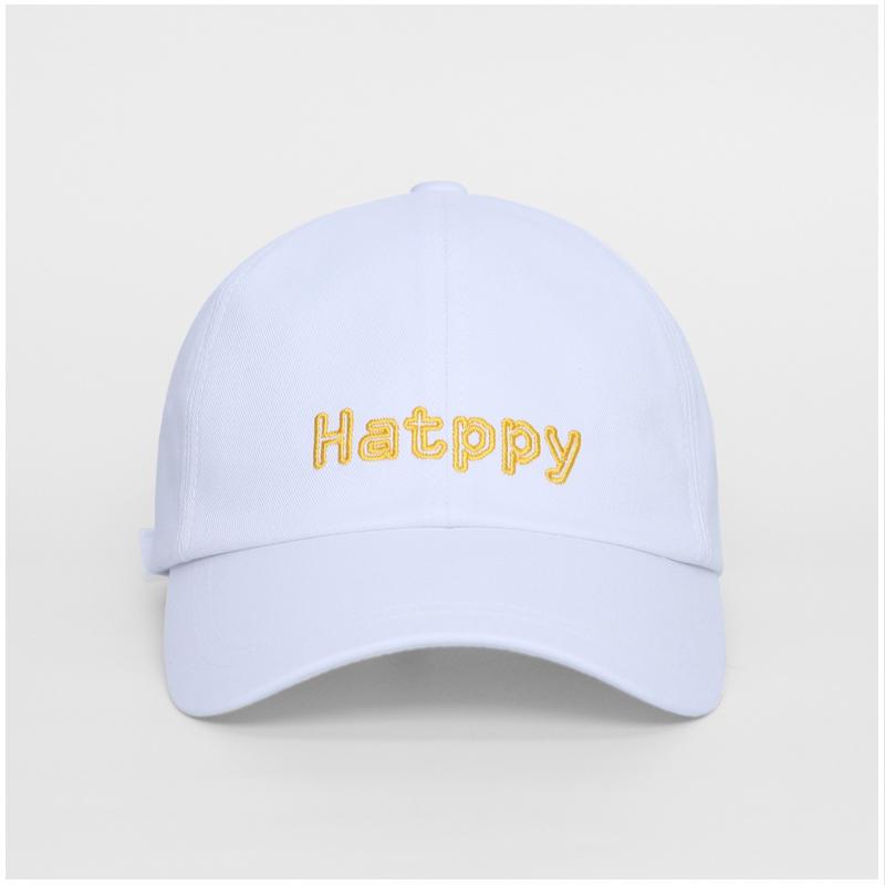 [햇피] Hatppy cap (White)