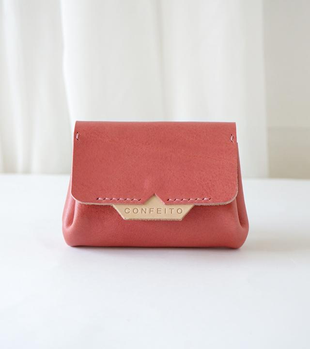 [콘페이토] Pastry Wallet Rose Pink