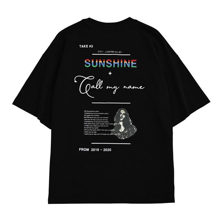 [이모션플래닛] 집시 선샤인 티셔츠 블랙