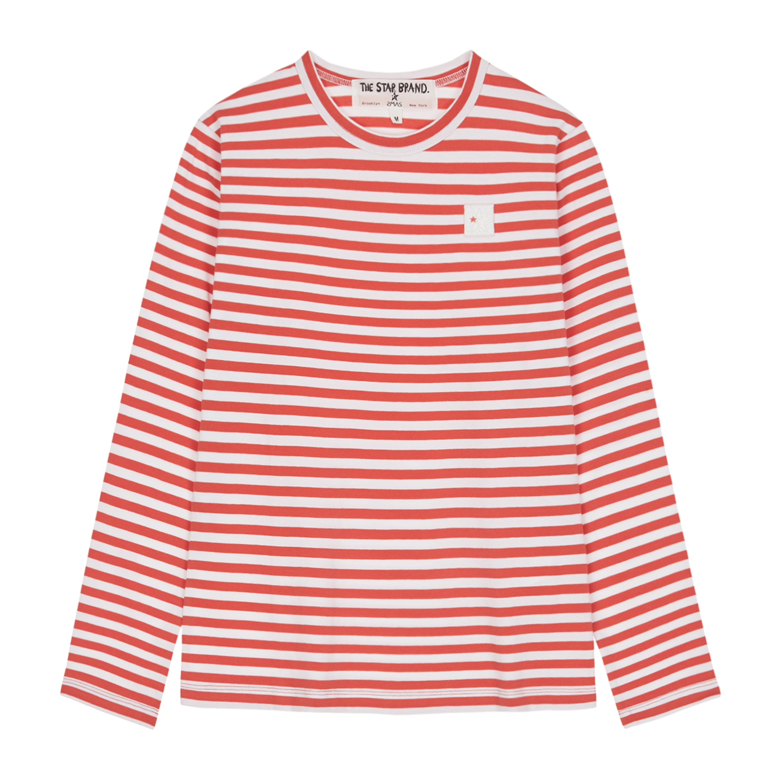 Cotton Basic Stripe T-Shirts / 2 Color