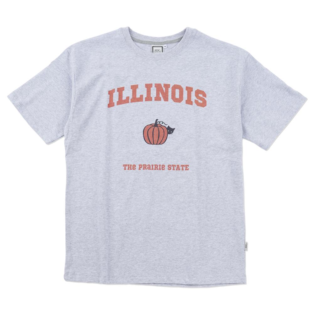 더 프레리 일리노이 반팔 티셔츠 루즈 핏