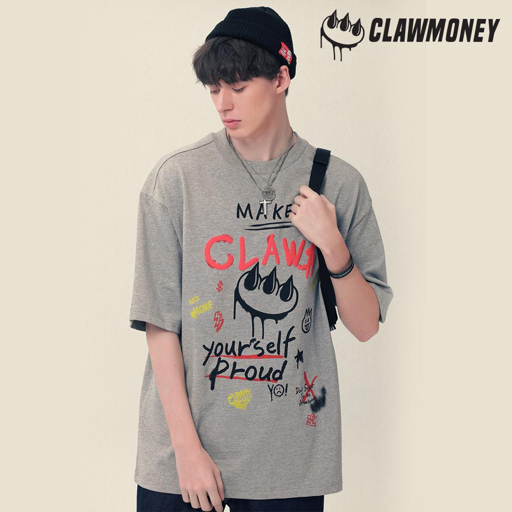 클라우머니 그라피티 클라우 티셔츠 MG