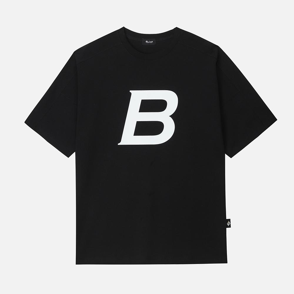 비로고 (b-logo) 프린트 티셔츠(black/white)