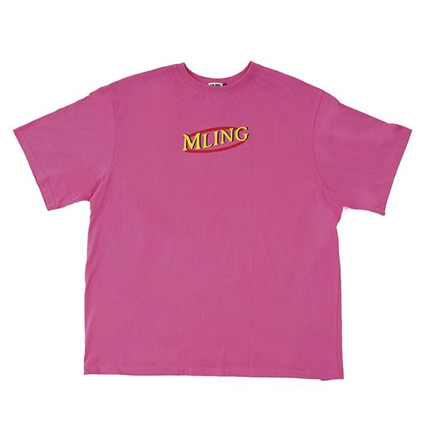 [믈링]MLDONALD 1/2 T SHIRT (PINK)