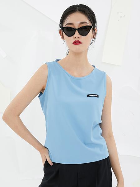 [숄더패드] (20SS) Askin sleeveless-pastel blue