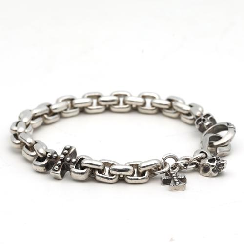 [킹베리 Warboy Chain bracelet