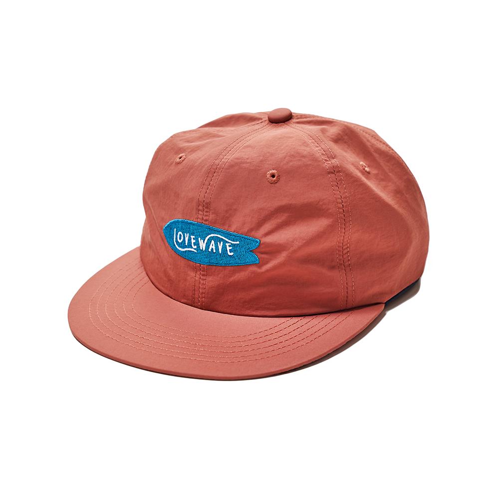 [리퍼브/스크래치] LOVEWAVE fish board cap (brick)