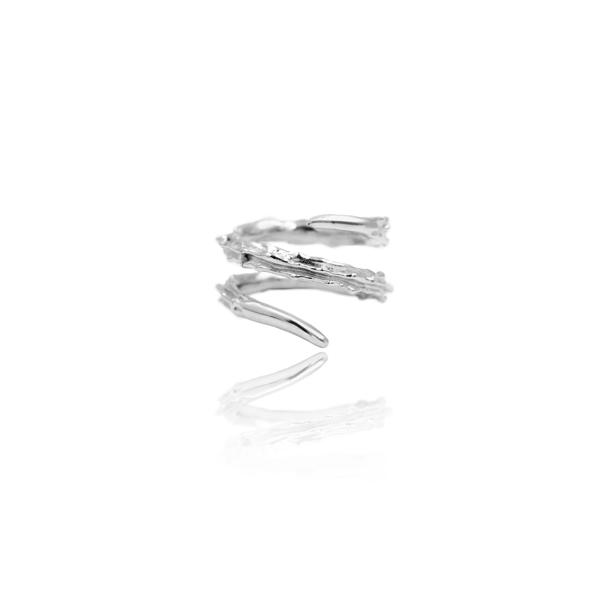 Thorn Double Ring (SILVER 925)