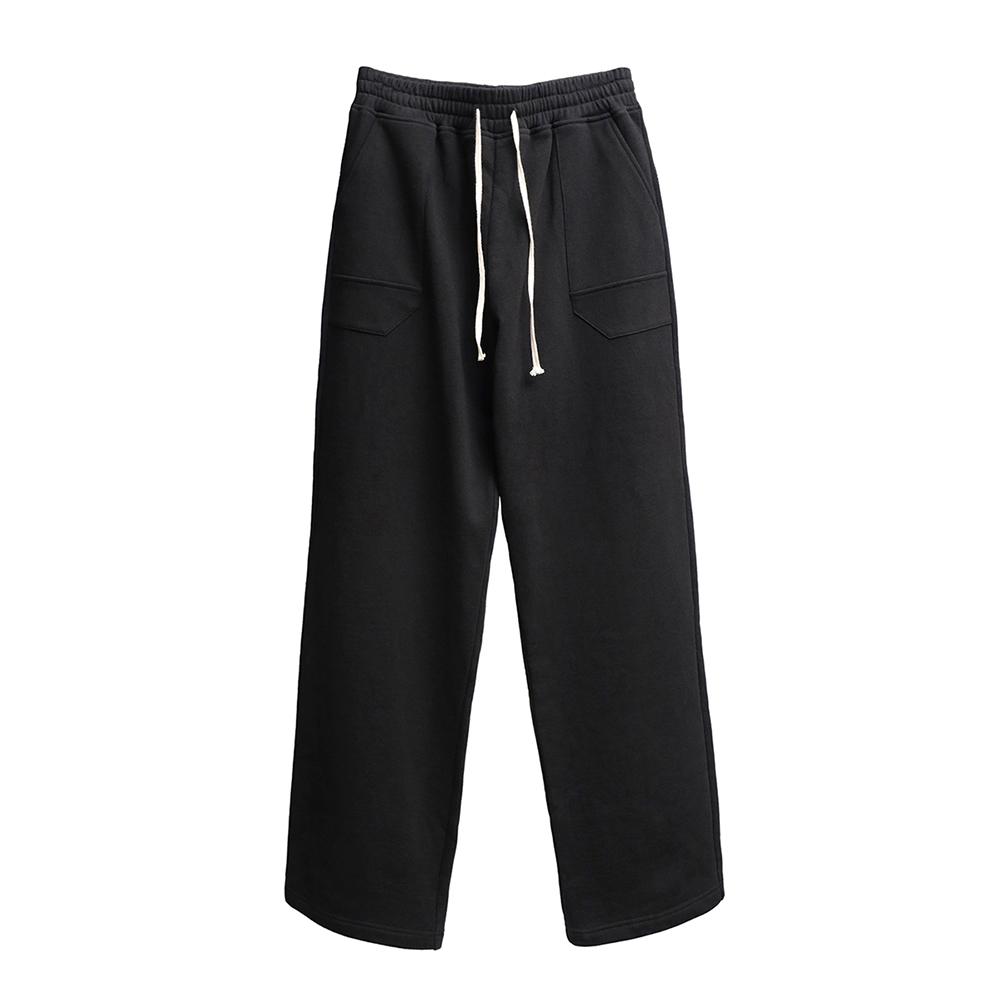 Pentagonal Pocket Sweat Pants (black)