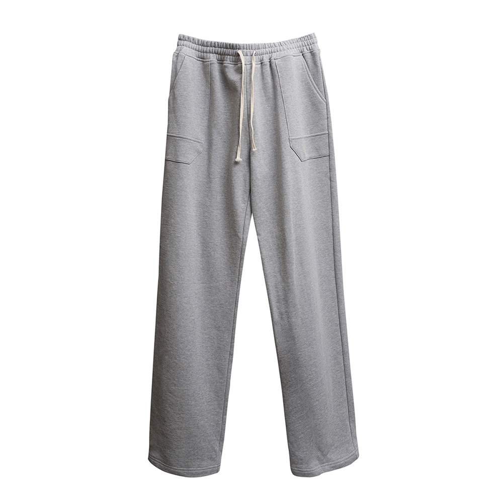 Pentagonal Pocket Sweat Pants (gray)