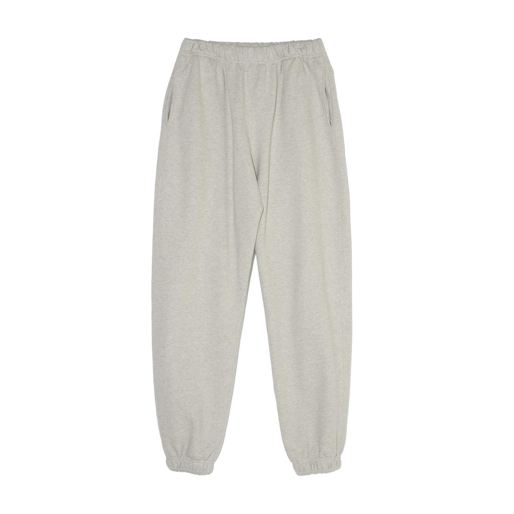 Cotton Sweat Pants (Light Grey)