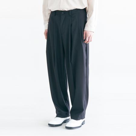 Regular Silhouette Pants_Black