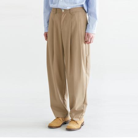 Regular Silhouette Pants_Camel