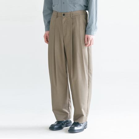 Regular Silhouette Pants_Khaki Grey