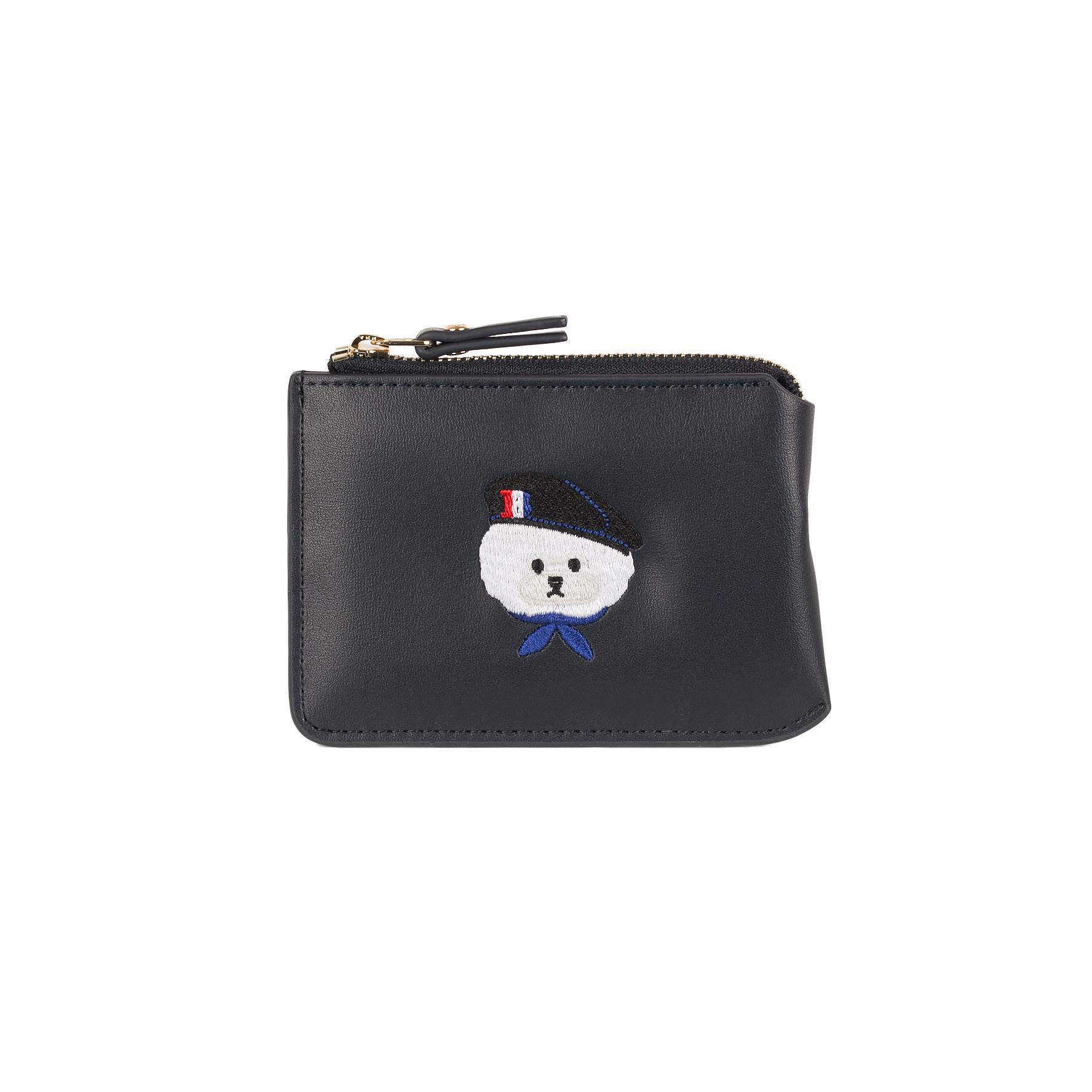 비욘드 클로젯 X 매니퀸 ILP 파리 로고 카드지갑