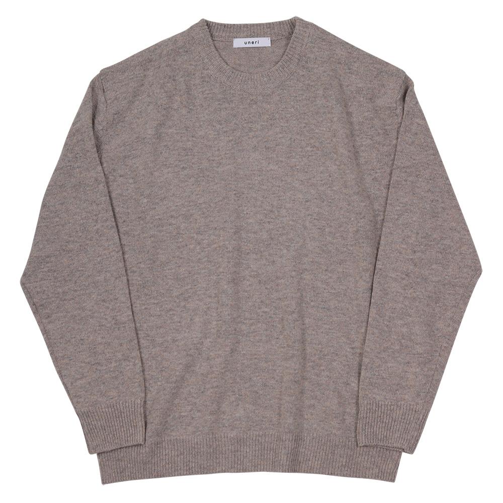 [우네리]Relaxed Wool Knit _ beige 니트