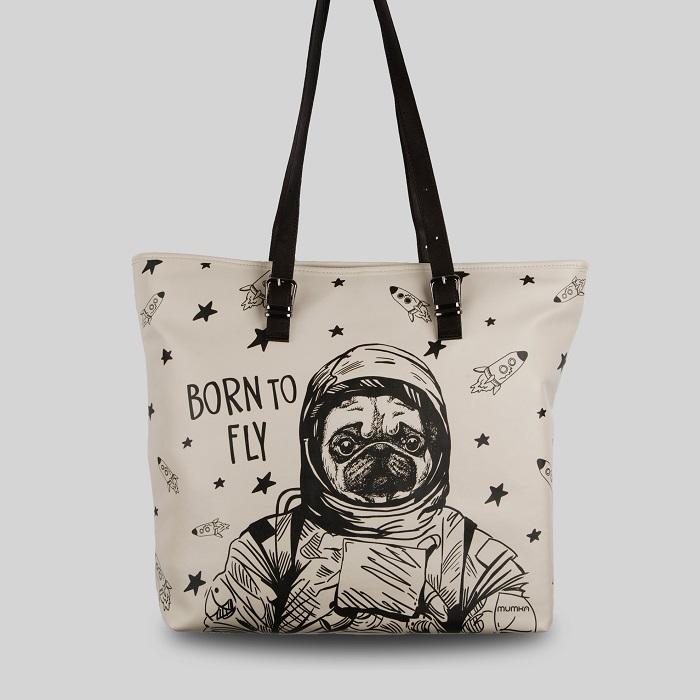 [뭄카][mumka] Pug the Astronaut Wide 백