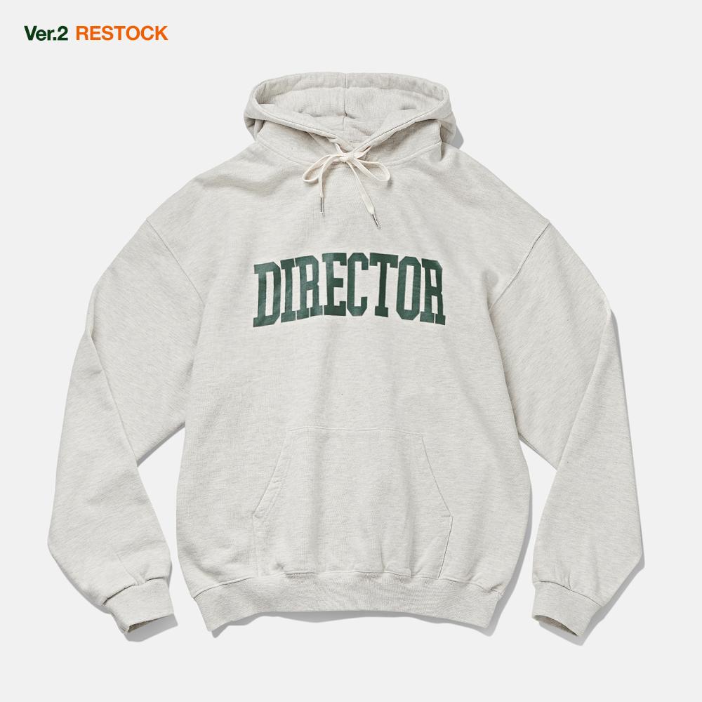[RESTOCK]DTRO+AFST DIRECTOR HOODIE MELANGE GREY