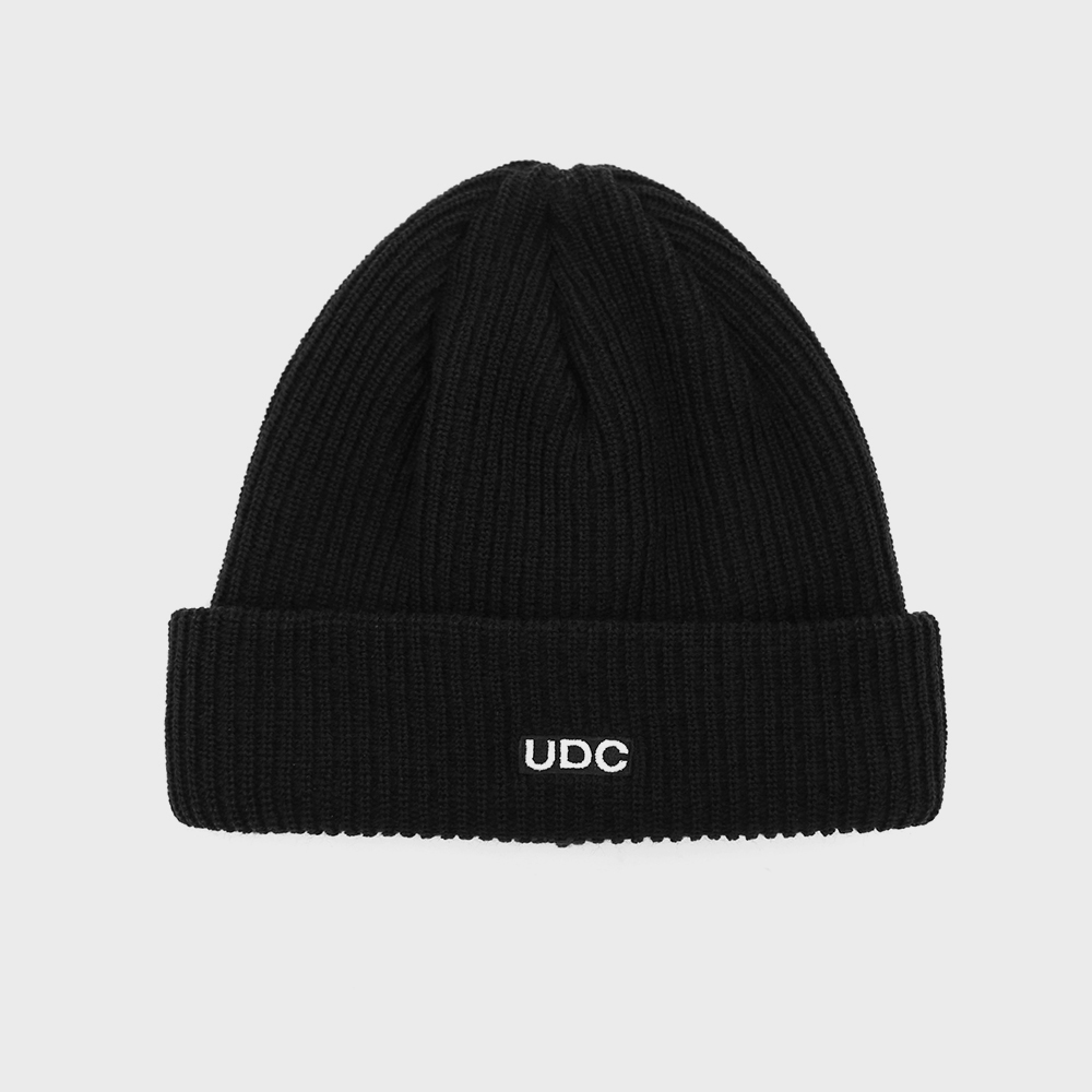 BEANIE / LONG TAIL / BOX LOGO / M BLACK
