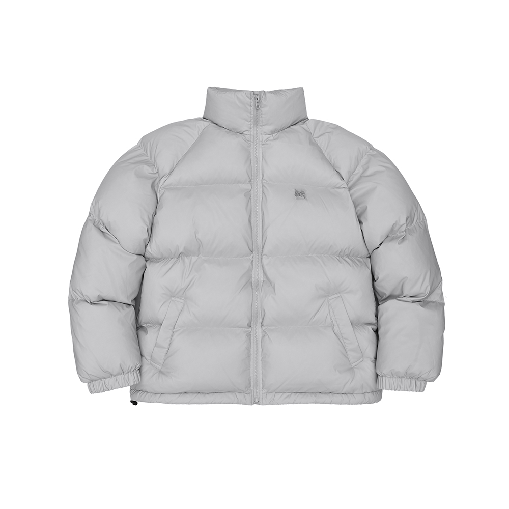 TAG SHORT DOWN PUFFER - GREY