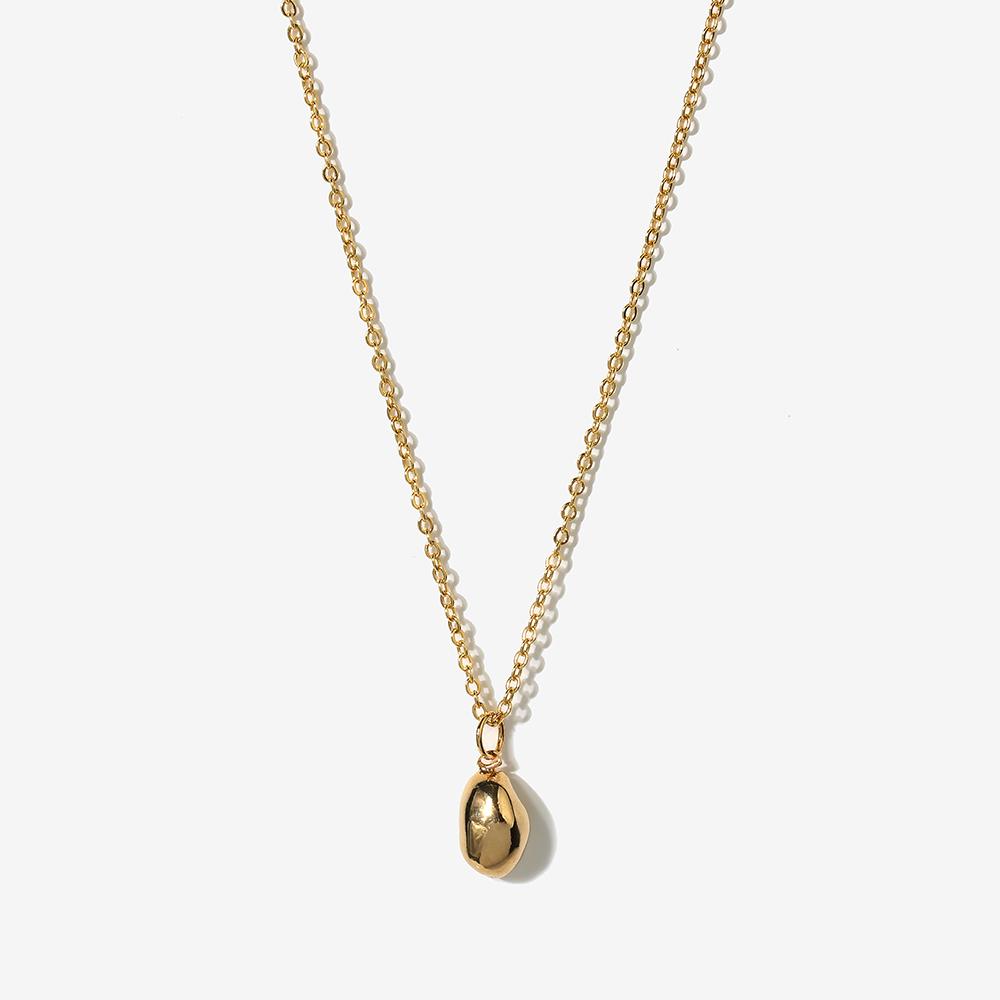 [가수 청하 착용]small rock necklace N009
