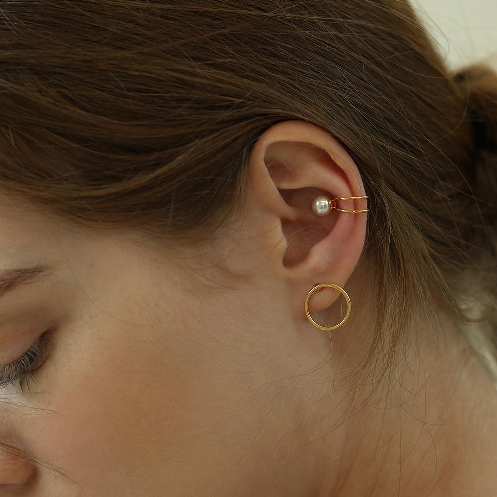pearl point ear cuff C005