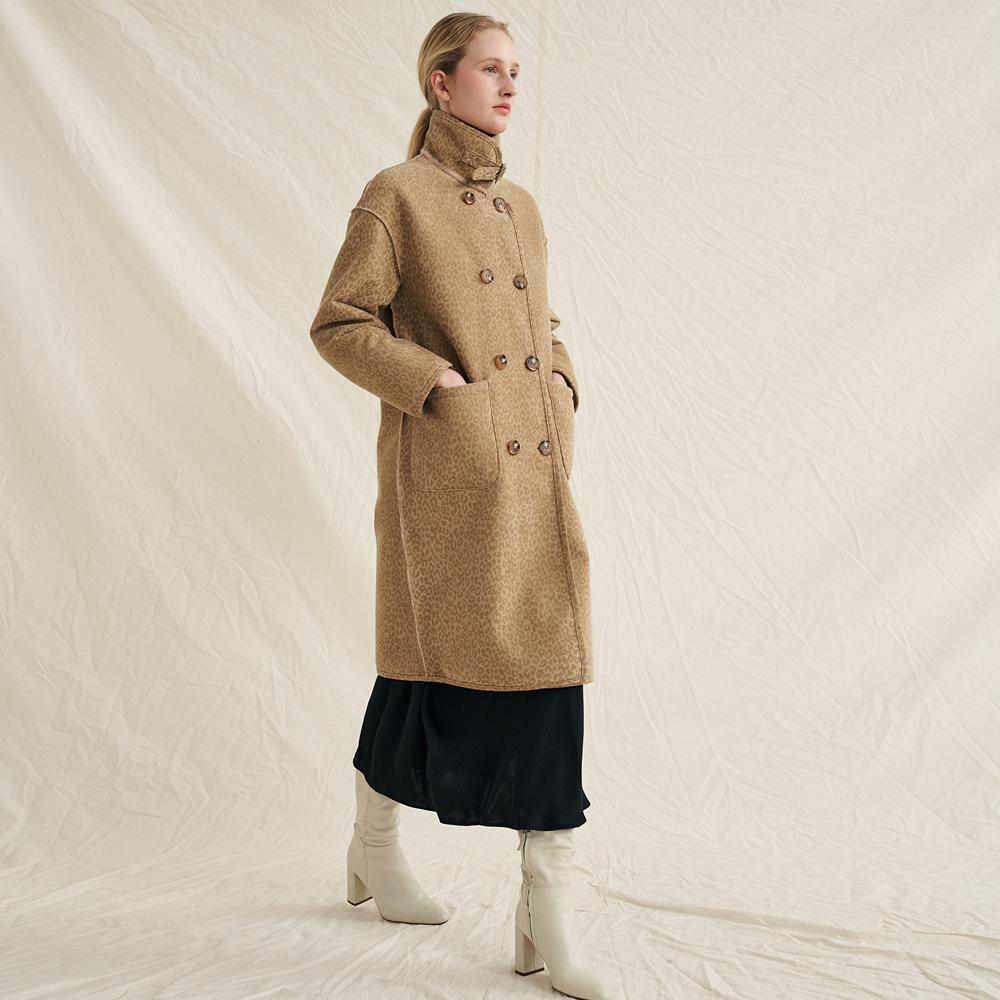 [몰리올리] Maisy Reversible Coat [Beige]