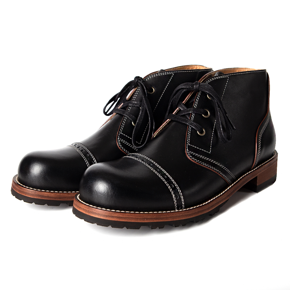West 3hole chukka boots (black)