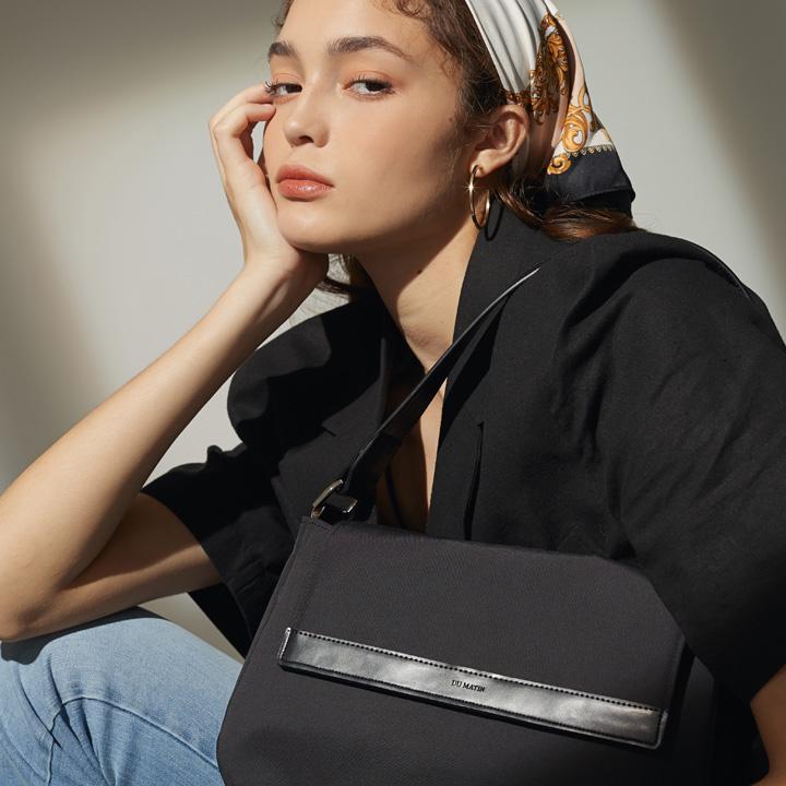 [리퍼브] EASY TWILL BLACK BAG