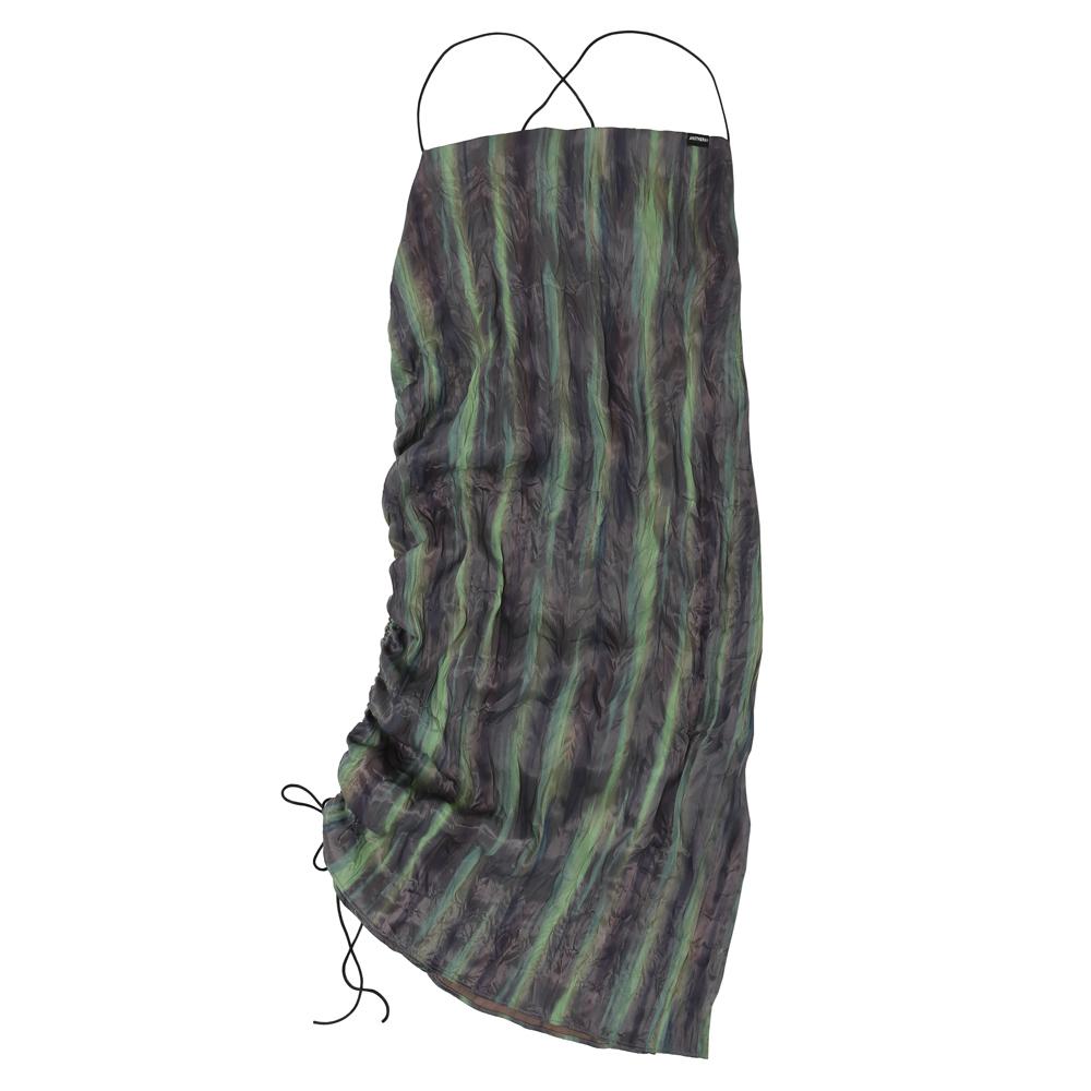 [어나더에이] Stripe Strap 드레스 [Green]