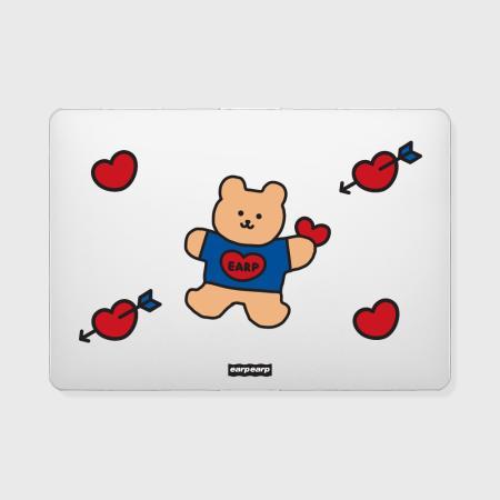 Love bear heart-original(맥북-투명)