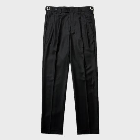 ERD - Twopleats Flannel Black