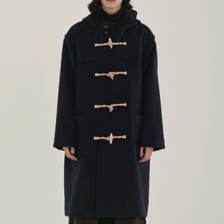 unisex duffle coat navy