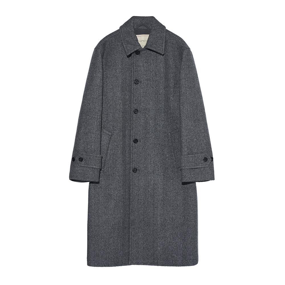 Heavy wool Single coat - Gray