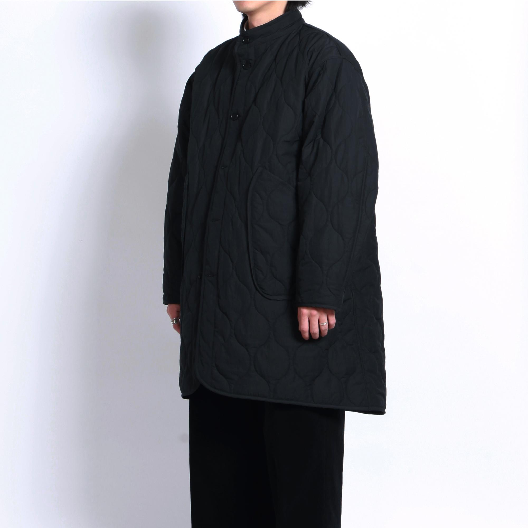Quilting Coat Black