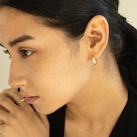 Lune earring_gd