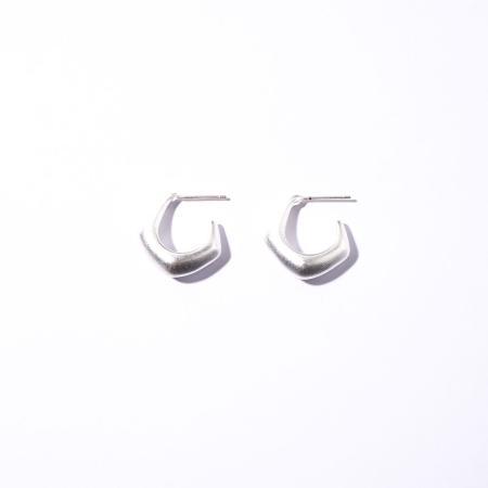 Pentagon earring_sv