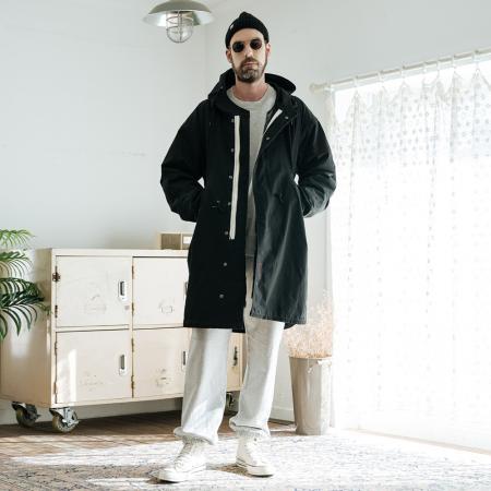 Liner Reversible M51 Coat / Black