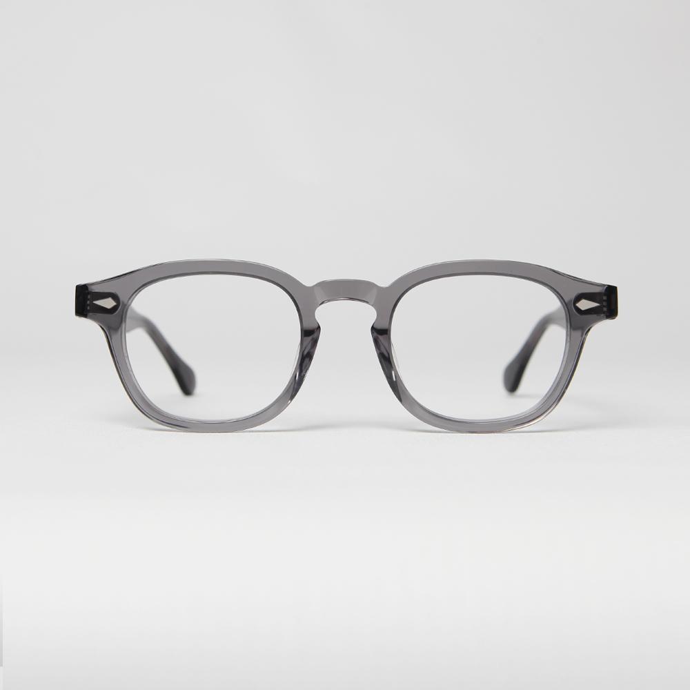 BETHEL (CRYSTAL GRAY) 3 size 블루라이트 차단 안경  CLIP-ON 뿔테