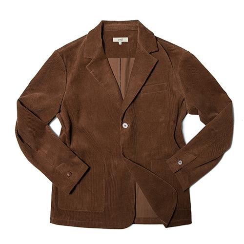 ERD - French Corduroy jacket Brown