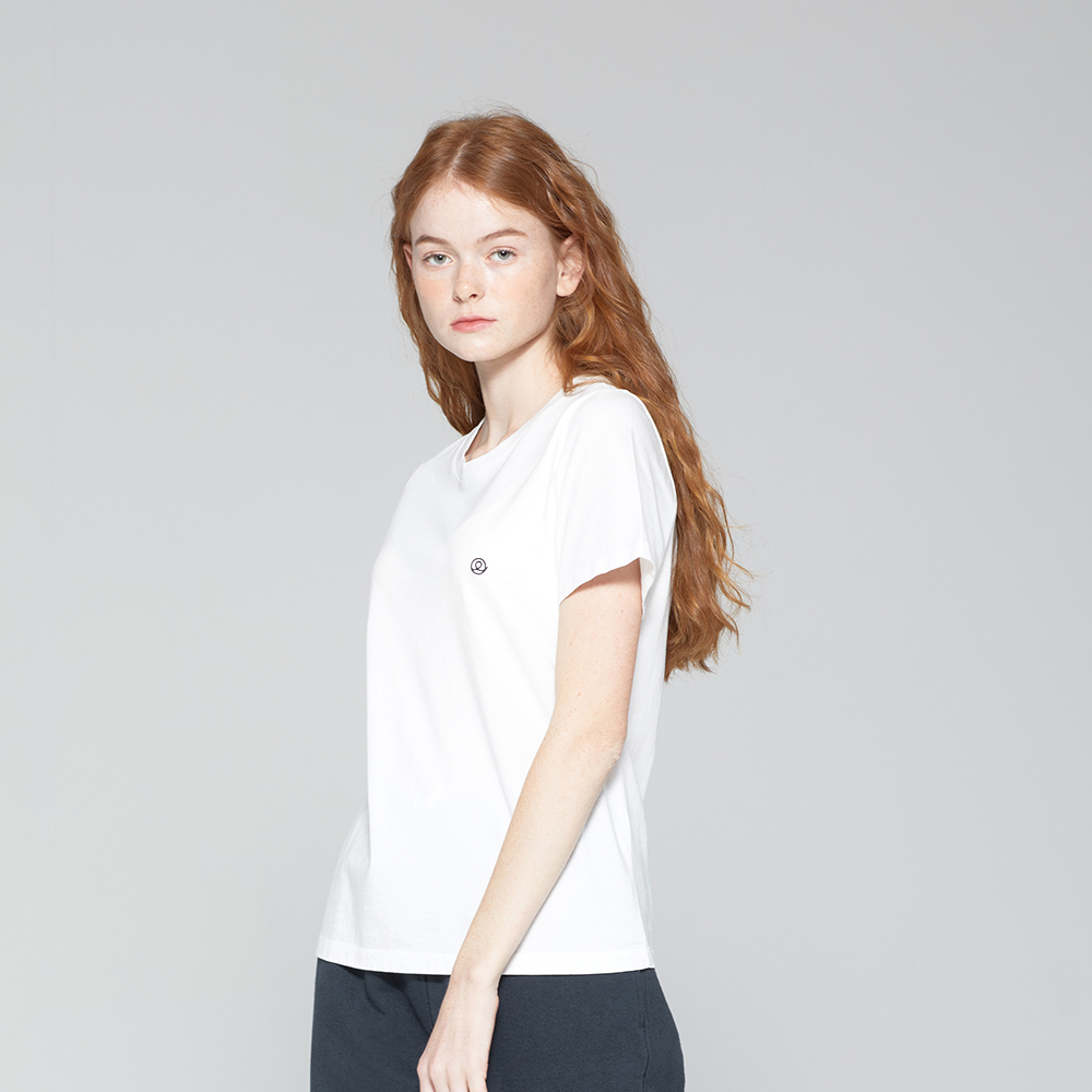 20FW COETERNAL : STANDARD T-SHIRT SNOW WHITE