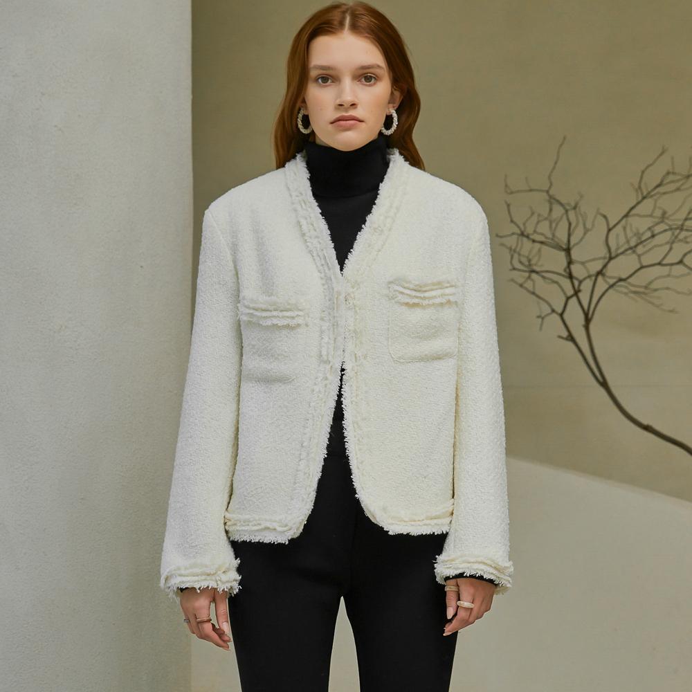 Gladys Classy Tweed Jacket